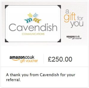 Referral amazon voucher