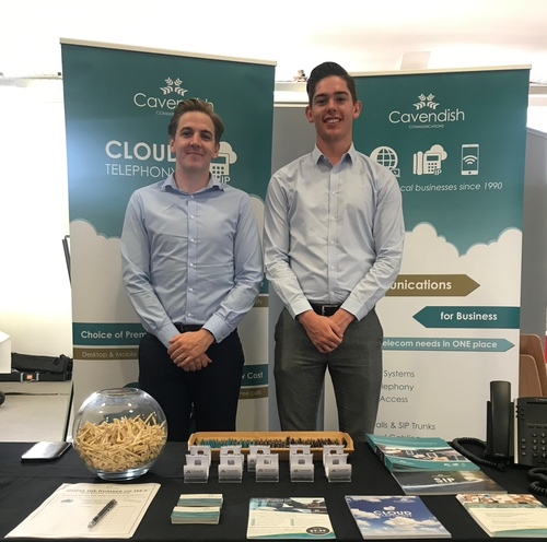 The Cavendish Team exhibited at Mid Sussex Expo in Burgess Hill