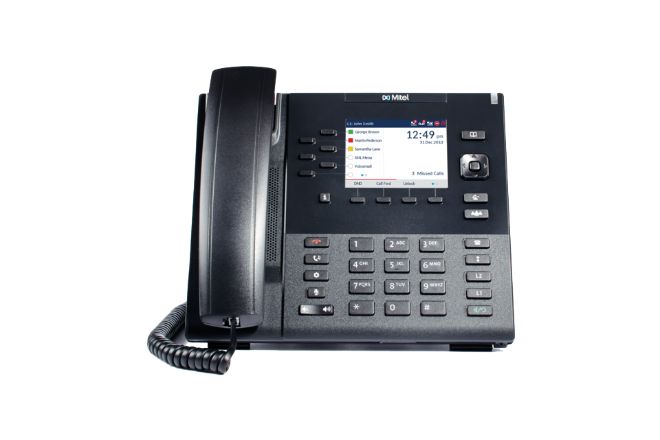Wide range of Mitel MiCloud Office IP Phones for all type of