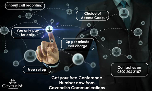 Conference Number in the UK, Sussex, Brighton, Kent - Cavendish