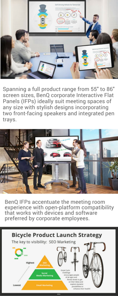 BenQ Interactive Touch Panel