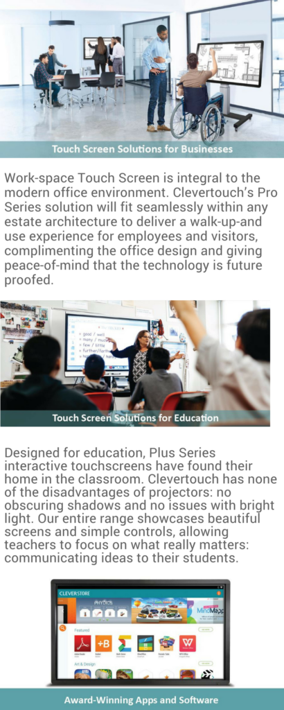 Clevertouch Interactive Touch Panel