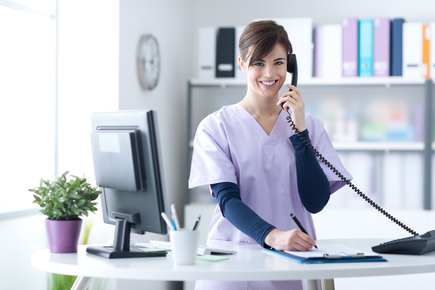 Phone system for hospitals