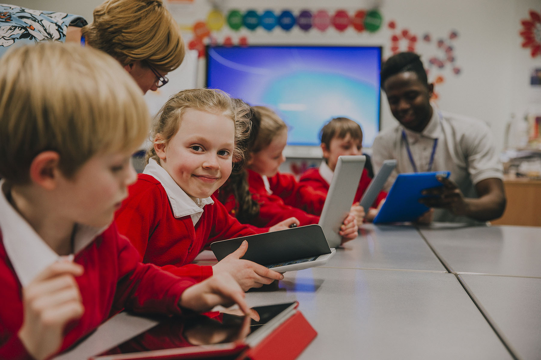 Touch screen for schools