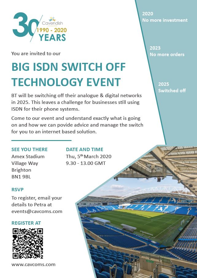 BT ISDN Switch Off