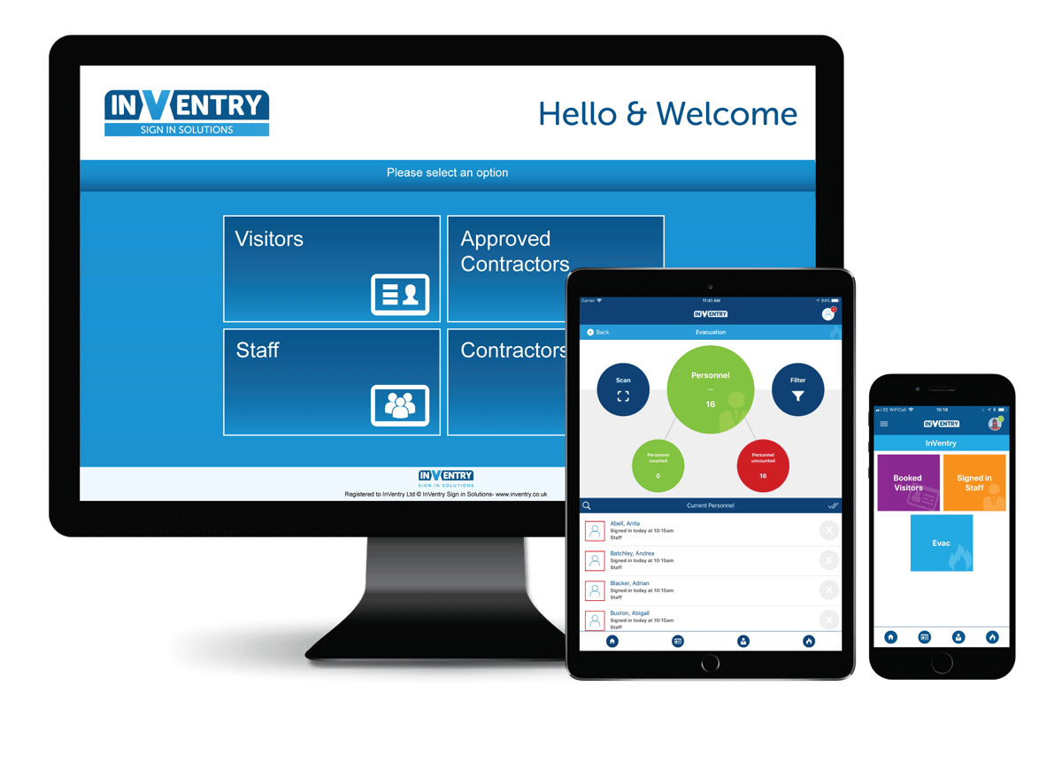 Sign-in and Visitor Management System for Businesses